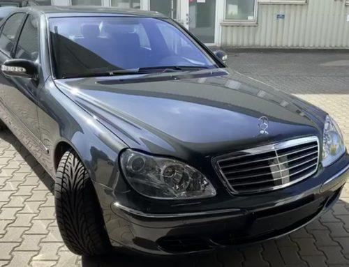 Intensivreinigung eines Mercedes W220 600 SEL